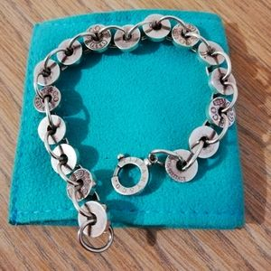 Tiffany link bracelet 1873